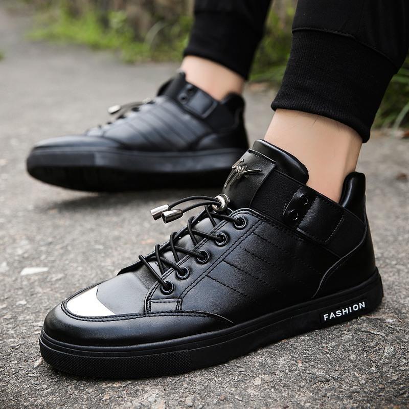 Jual Beli Online Musim Gugur Dan Musim Dingin Sepatu Olahraga Sepatu Pria Dan Wanita Korea Fashion Trendy Sepatu Putih Intl
