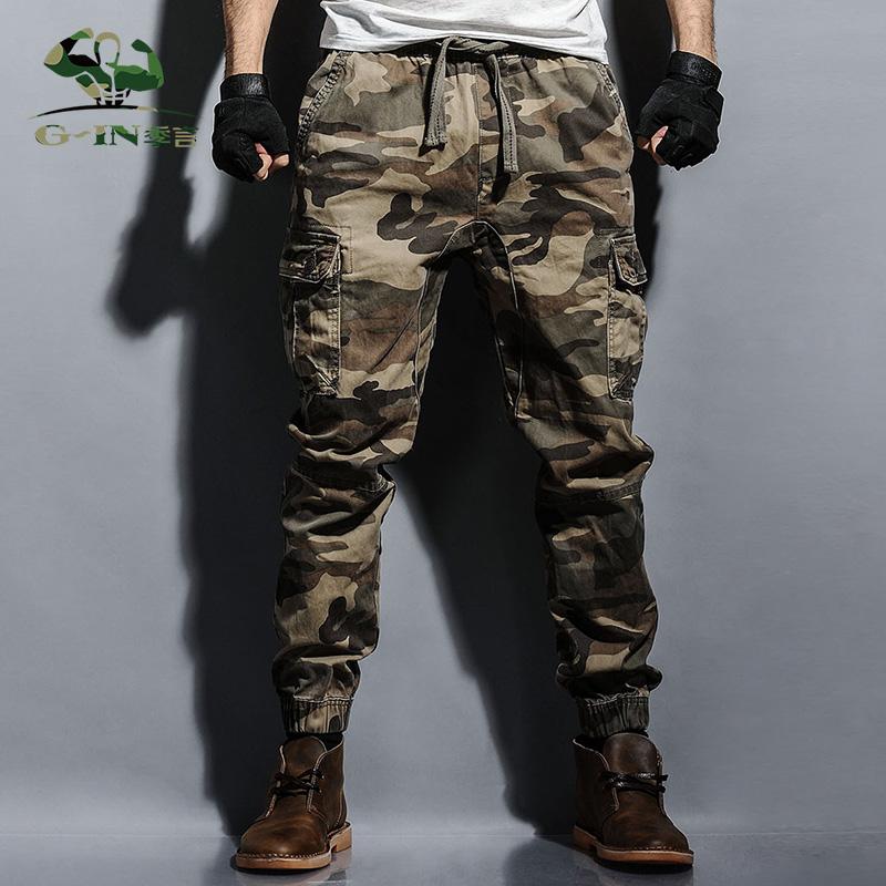 Spesifikasi Musim Semi Baju Militer Harem Celana Cargo Penggemar Warna Yang Bagus