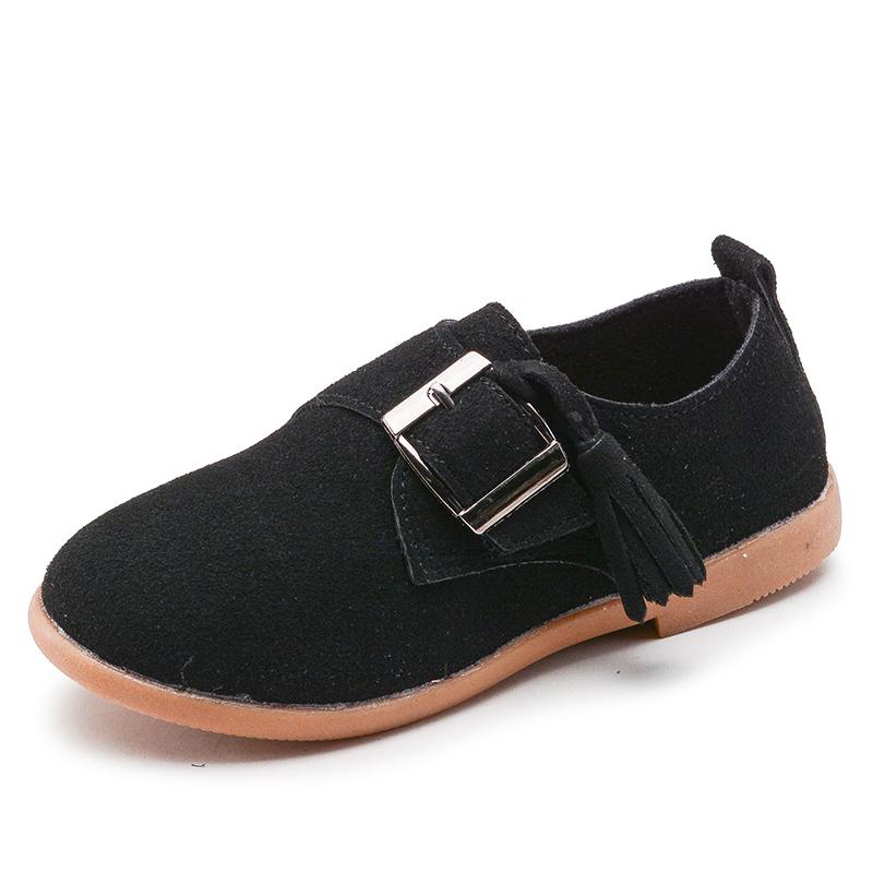 Spesifikasi Musim Semi Baru Sepatu Anak Laki Laki Anak Sepatu Kulit Yang Bagus