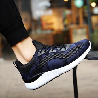Harga Penawaran Sepatu olahraga pria Sepatu olah raga murid netral Sepatu  Gaya Korea Tren casual sepatu 63a8f336ff