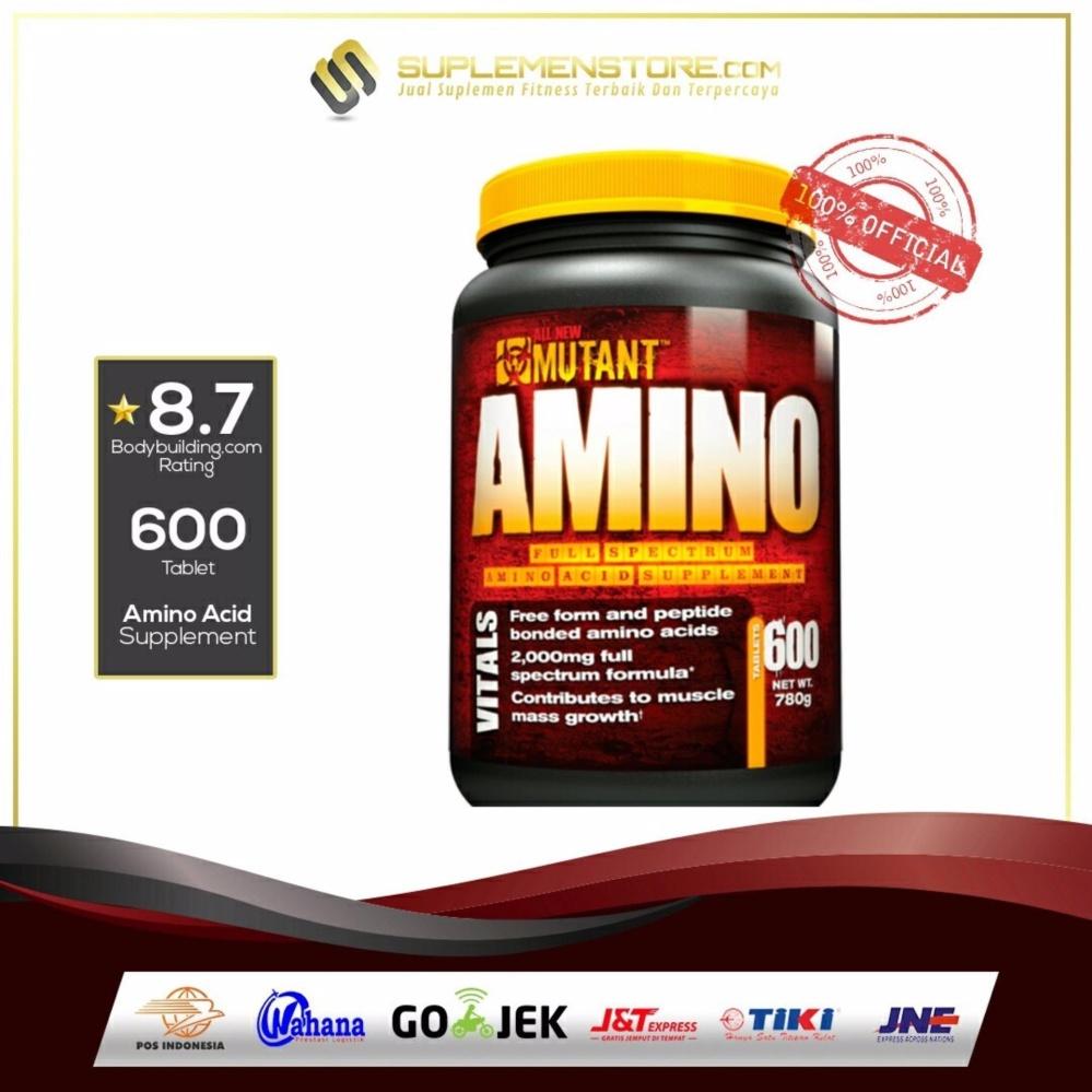 Harga Termurah Mutant Amino 600Tabs