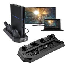 Kipas Pendingin Mutilfungsi Berdiri Vertikal For PS4/PlayStation 4 Konsol Pendingin With The Station Pengisian