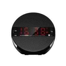 Toko Mx21 Meja Bluetooth Speaker Penopang Fm Radio Line Di Tf Kartu Alarm Clock Intl Yang Bisa Kredit