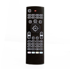 MX3-L 2.4G Wireless Air Mouse Keyboard 6-Axis Controller with Voice Remote (Black) - intl