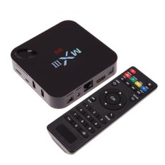 MXIII XBMC Kodi QUAD CORE ANDROID SMART 1g/8g TV BOX 4.4 Android 4 K UL CSA -Intl