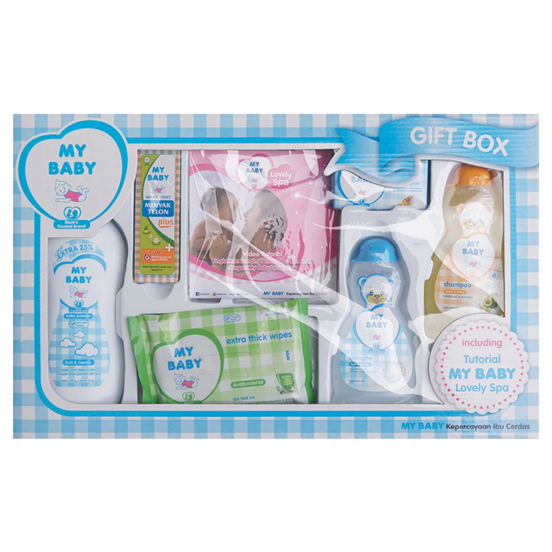 Review My Baby Paket Gift Box Biru Bgk005 Terbaru