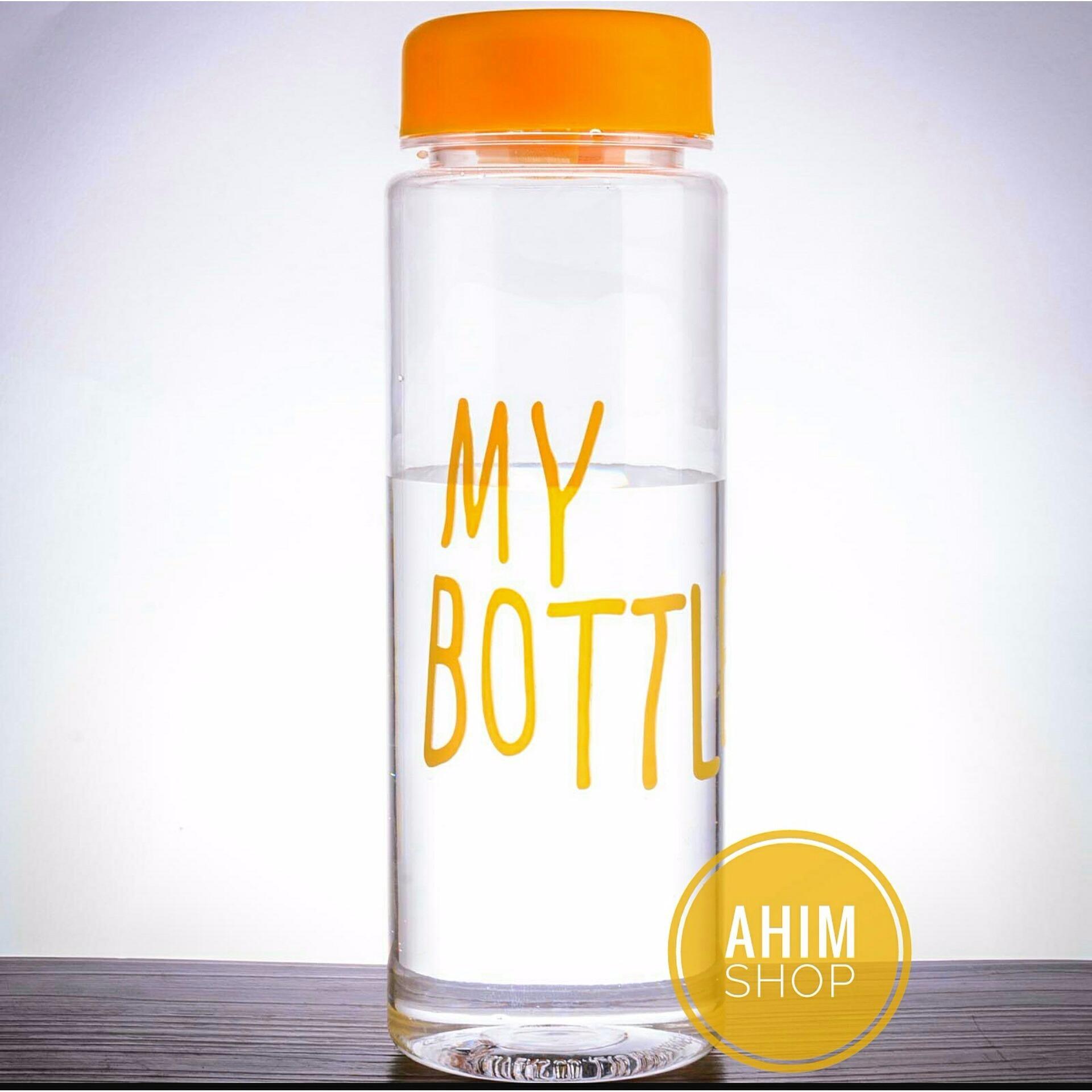 My Bottle 545ml CLEAR/Transparan Botol Minum ECO Friendly Infused Water Tritan BPA Free - YELLOW