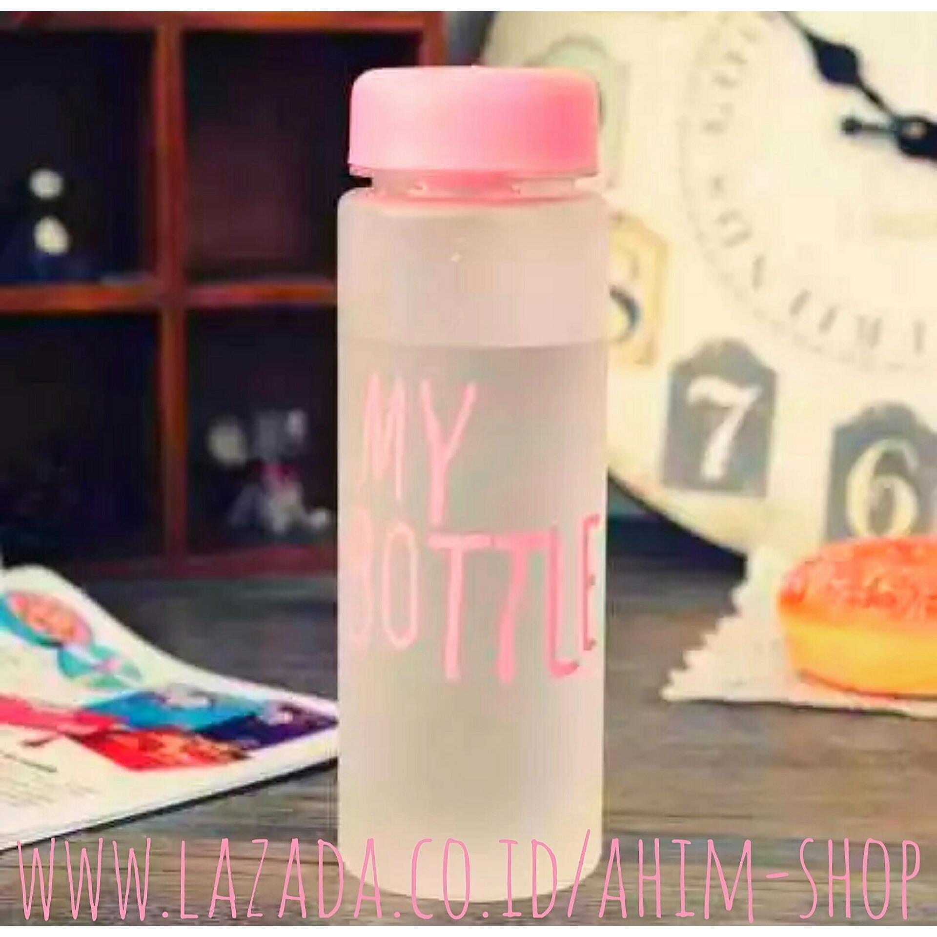 Jual Produk My Bottle Botol Minuman 500ml Sama Pouch Doff Elegant 545 Ml Minum Infused Water Tritan Bpa Free Eco Friendly