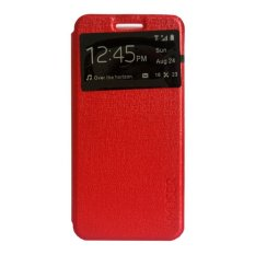 My User Flip Cover Oppo Mirror 5 - Merah