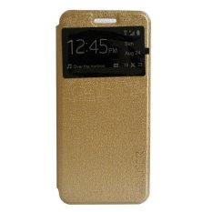 My User Flip Cover Samsung Galaxy A3 2017 - Gold