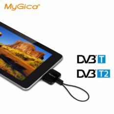 MyGica Pad Android TV Tuner DVB-T2 PT360 Perangakat Menonton TV dengan Smartphone Tablet Gagdet Free Tanpa Koneksi Internet Watch Digial TV Anywhere No Internet Needed Totonton Siaran Televisi Gratis Di Mana Saja s4742 - Hitam