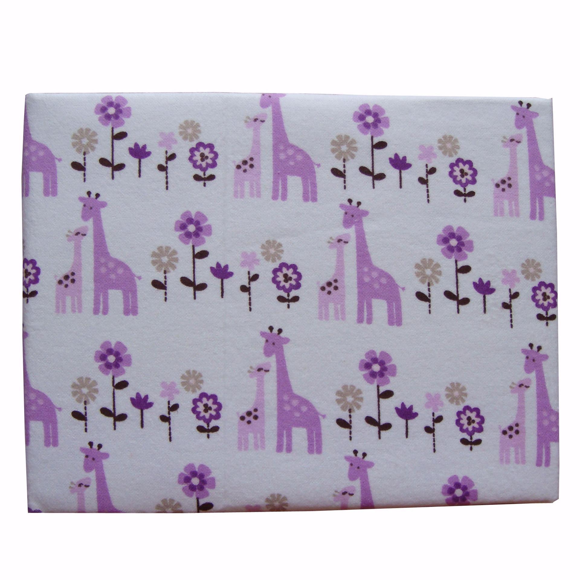 Spesifikasi Mykenzie Baby Keep Me Dry Quilt Pad Perlak Alas Ompol Flanel Waterproof 70X120Cm Giraffe Paling Bagus