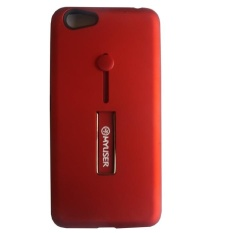 Myuser Tacooc Kick Stand Case 3in1 Plus Ring Karet iPhone 6 - Merah