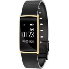 Harga N108 Gelang Jantung Kesehatan Monitor Jam Tangan Pintar Tekanan Darah Monitor Gelang Pintar Bluetooth Ip67 Air Bukti Gelang Kebugaran Tracker Intl Original