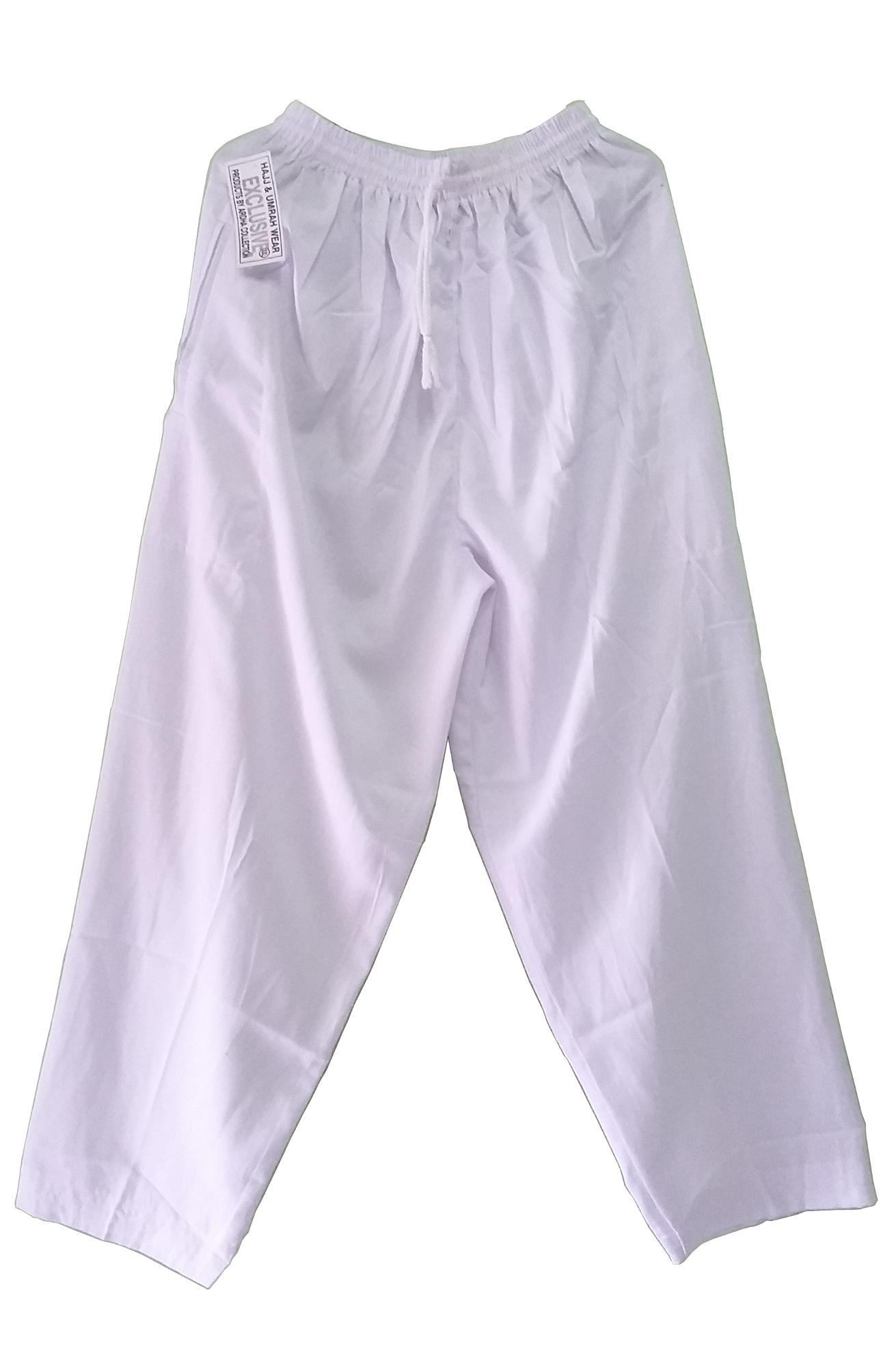 Beli Nabawi Celana Ihram Laki Laki Putih Baru