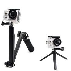 Nagita Tripod/Monopod/Tongsis Kamera GoPro Hero Action YiCam SjCam 3 Way