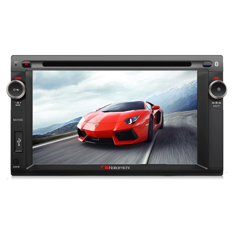 Beli Nakamichi Na 1550 Double Din 6 2 Inch Touchscreen Display Bluetooth Seken