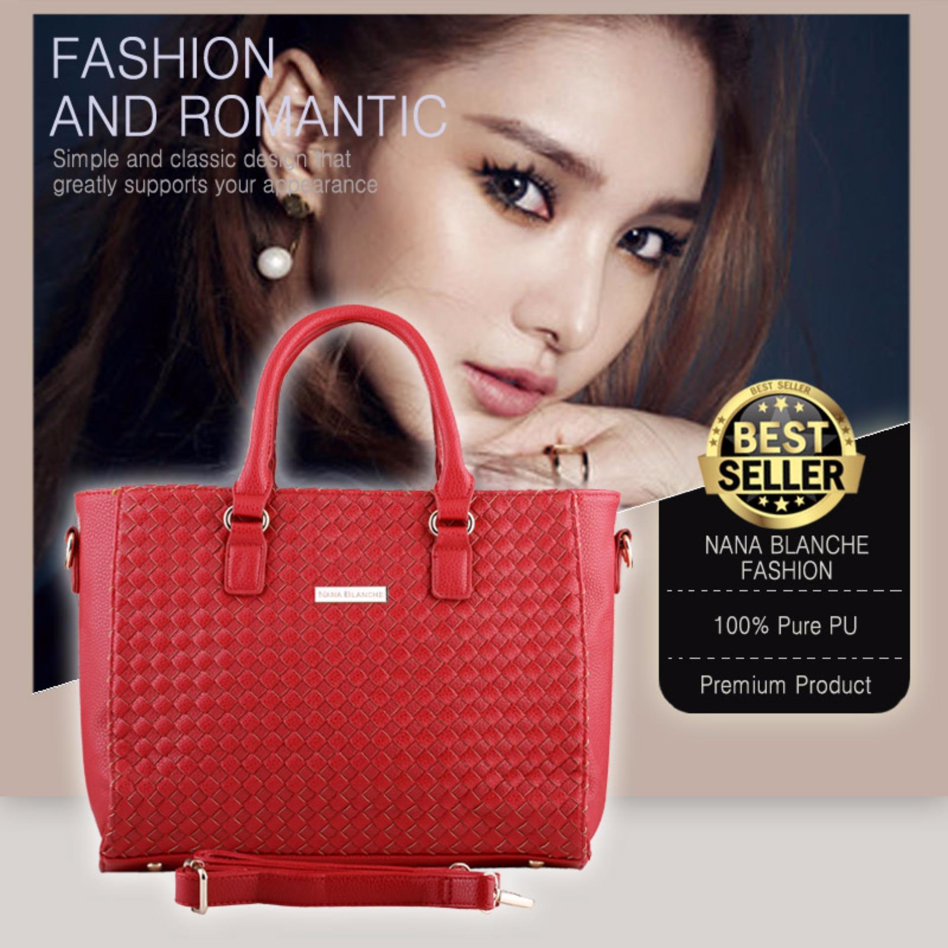 Katalog Nana Blanche Botega Tas Kerja Premium Tas Tangan Dan Tas Selempang 8082 Merah Terbaru