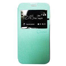 Jual Nano Leather Flip Cover For Andromax R2 Tosca Branded Murah