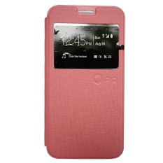 Harga Nano Leather Flip Cover For Samsung Galaxy Note 2 Pink Online