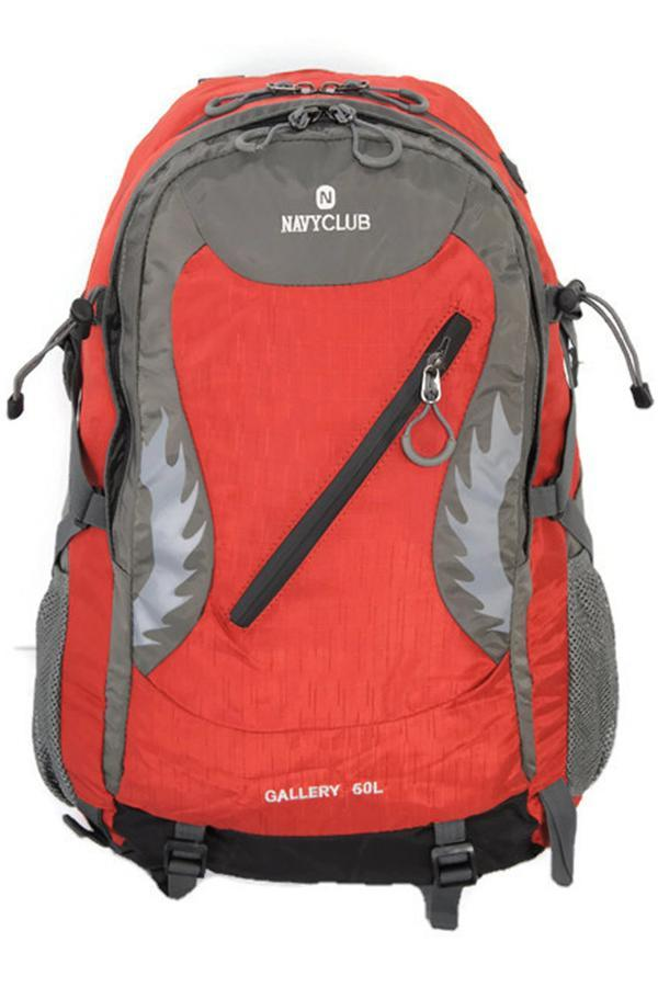 Harga Navy Club Hiking Backpack 3630 50L Merah Seken