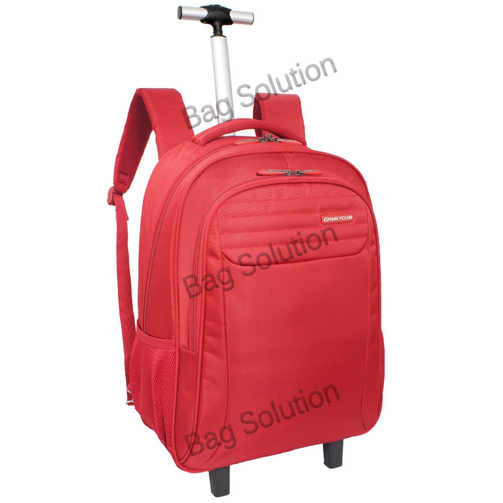 Jual Navy Club New Arrival Tas Laptop Backpack Ransel Trolley Travel Tahan Air Tas Pria Tas Wanita Tr 39 Merah Navy Club