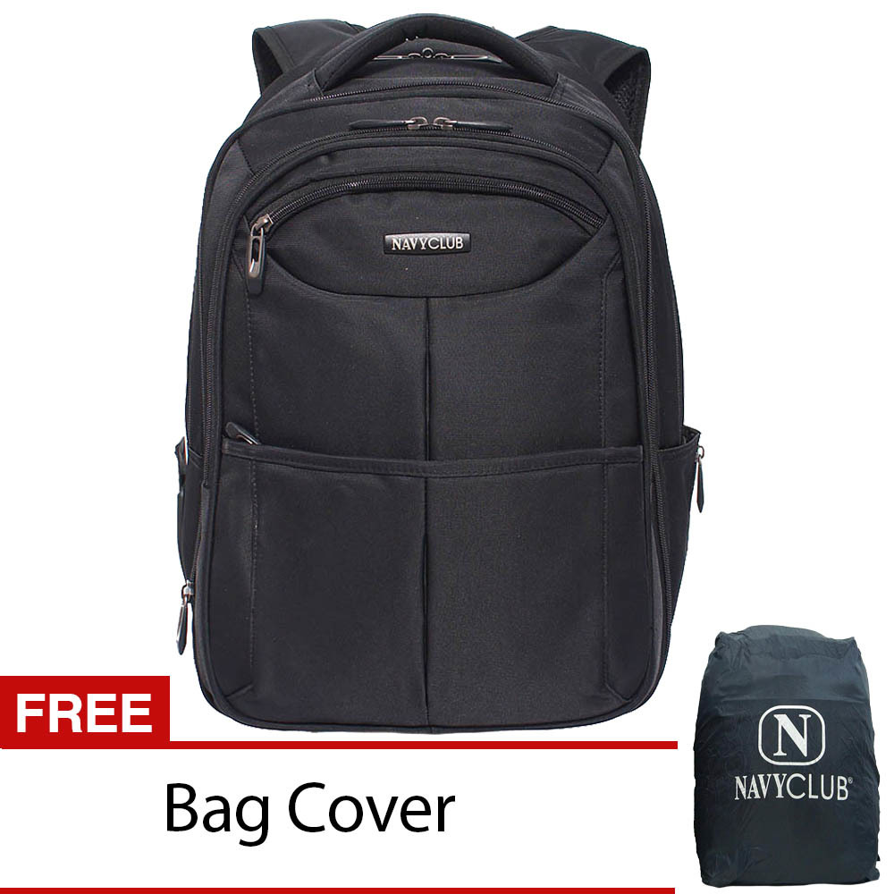 Jual Navy Club Ransel Laptop Expandable 8307 Hitam Antik