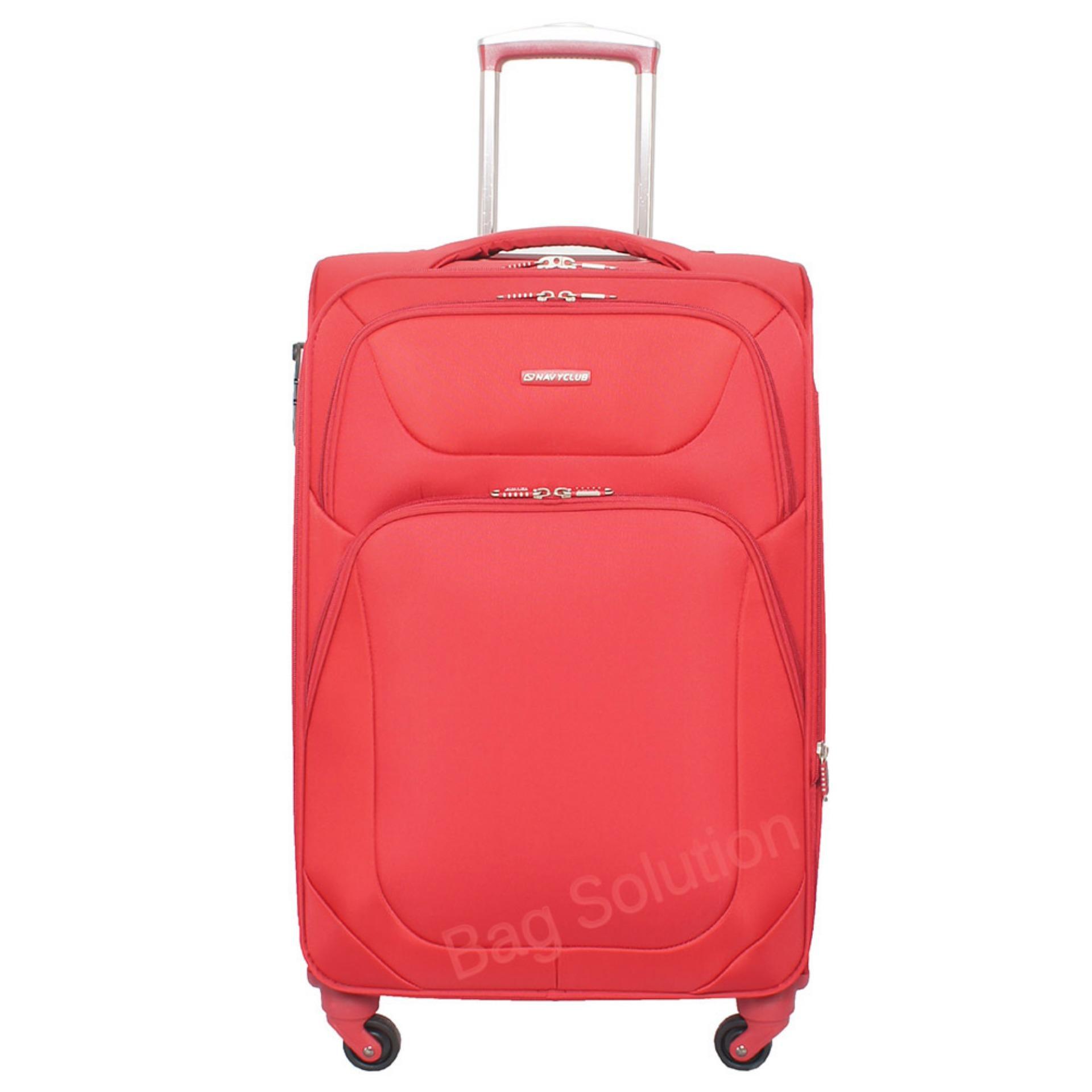 Spesifikasi Navy Club Tas Koper Softcase 4 Roda 3922 20 Inch Red Dan Harganya