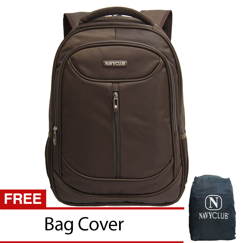 Toko Navy Club Tas Ransel Laptop Waterproof 8291 Coffee Free Bag Cover Terlengkap Indonesia