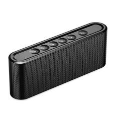 Naxen X6 Wireless Bluetooth Speaker Metal Touch Dual Speakers Mini Portable Outdoor HIFI Stereo Bass Loudspeakers With Mic Support MIcro SD USB AUX FM Radio