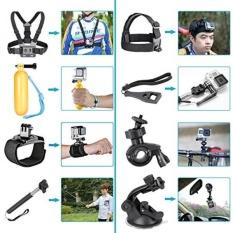 Neewer 12-In-1 Action Camera Aksesori Kit untuk GOPRO HERO Sesi/5 Hero 1 2 3 3 + 4 5 SJ4000 5000 6000 DBPOWER AKASO VicTsing APEMAN WiMiUS Rollei QUMOX Lightdow Campark dan Sony Olahraga DV dan Lainnya-Intl
