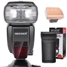 Neewer 2.4G HSS 1/8000 S TTL GN60 Nirkabel Master Flash Kedua Lampu Kilat untuk Kanon 7D Mark II 5D MARK II III IV 1300D 1200D 750D 700D, 600D, 80D dan Canon DSLR Kamera (NW600EX-RT)-Intl