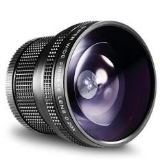 52 Mm 0.20X Tinggi Definisi Super Lebar AF Fisheye Lensa untuk Nikon D5300 D5200 D5100 D5000 D3300 D3100 D3000 d7100 D7000 D90 D80 DSLR Kamera-Internasional