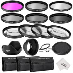 Neewer 58 Mm Lensa Lengkap Filter Aksesori Kit untuk Canon EOSREBEL700D 650D 600D 550D (T5i T4i T3i T2i) -Intl