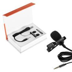 Beli Mikrofon Lapisan Lapis Kecil Mikrofon Omnidirectional Mikrofon Omnidirectional For Smartphone Android And Windows Wawancara Film Video Rekaman Suara Vokal Hitam Intl Kredit