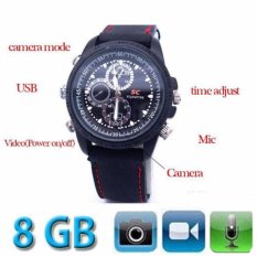 Neo Jam Tangan Kamera Pengintai Kareti Spy Camera Watch Rubber