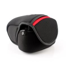 Neoprene kamera penutup tas untuk Canon EOS 1300D 1100D 1200D 650D 600D 700D 760D 750D 1000D 100D 450D 500D 550D 18-55 mm lensa (International) - International