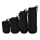 Beli Neoprene Soft For Dlsr Camera Lens Pouch Case Bag Protector S M L Xl Size 4Pcs Intl Online Murah