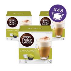 Jual Nescafe Dolce Gusto Kapsul Cappuccino 3 Box Murah