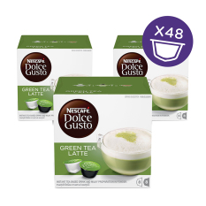 Toko Nescafe Dolce Gusto Kapsul Green Tea Latte 3 Box Online Indonesia