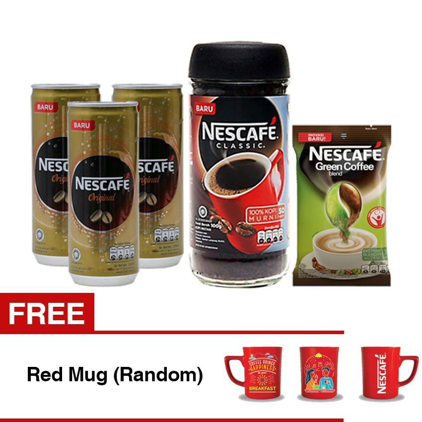 Review Nescafe Paket 75Rb Dapat Red Mug