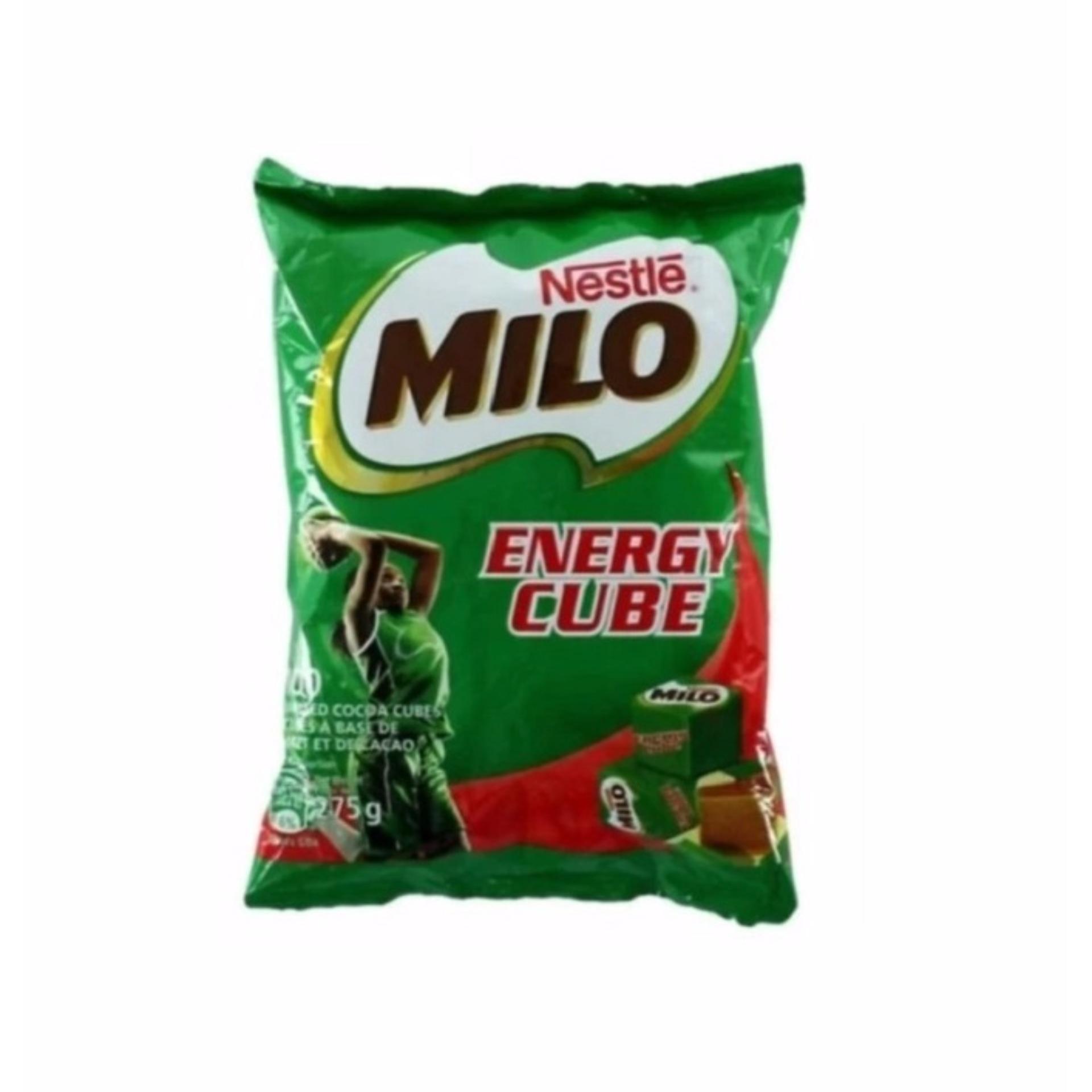 Katalog Nestle Milo Energy Cube 275 Gram 100 Biji Cube 1 Bungkus Terbaru
