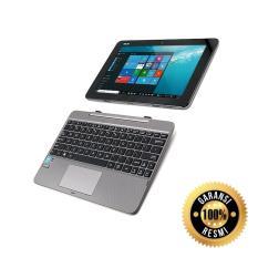 Netbook Resmi Asus Transformer T101HA-GR013T QC ATOM Z8350 Ram2gb Hdd128gb-MMC Win10 Layar 10