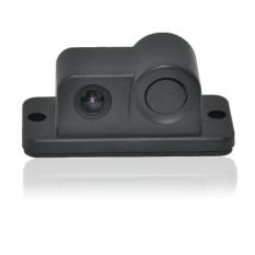 Baru 2 In1 Sensor Parkir Mobil Kamera Reverse Backup Radar Sistem Kit Suara Alarm