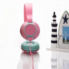Baru 3.5mm Fashion Bass Stereo Headphone Portable untuk IPhone IPad MAC PC MP3 PK-Intl