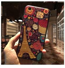 Baru 3D Stereo Relief Phone Case untuk Apple Iphone 6 Gaya Mode untuk IPhone 6 6 S Case Cover -Intl
