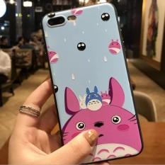 Baru 3D Stereo Relief Phone Case untuk Apple IPhone 6/6 S Plus Case Fashion Pola Cover-Intl