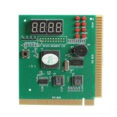 Baru 4 Digit LCD Display PC Analyzer Diagnostic Card Motherboard Post Tester-Intl