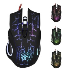 Toko New 6D Led Optical Usb Wired 5500 Dpi Pro Game Mouse For Laptop Pc Gaming Intl Termurah