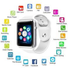 Baru A1 Bluetooth Smart Watch Ponsel GSM SIM Panggilan untuk IPhone Samsung-Intl
